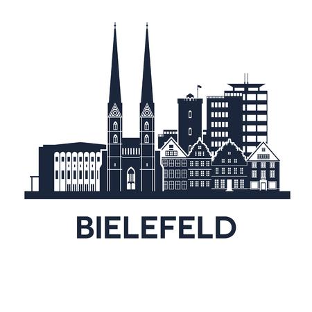 Bielefeld Skyline Emblem