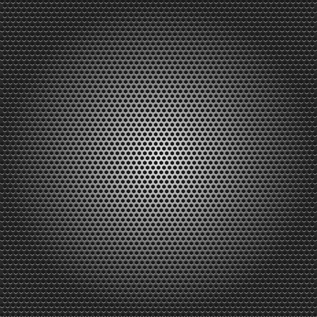 Black metallic background vector illustration