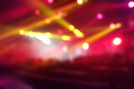 Defocused concert background