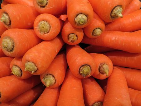 Large amounts of carrots