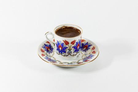 iznik: Turkish Coffee Stock Photo
