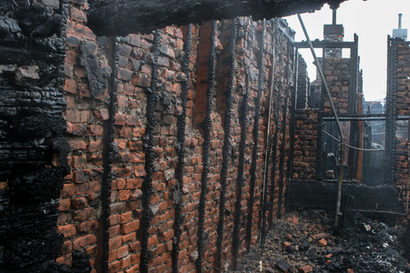 Multi-family residence fire