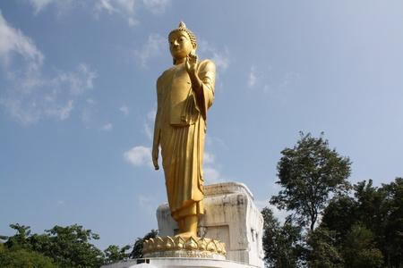 khan: Phra Yai or Big Buddha in Chiang Khan, Thailand
