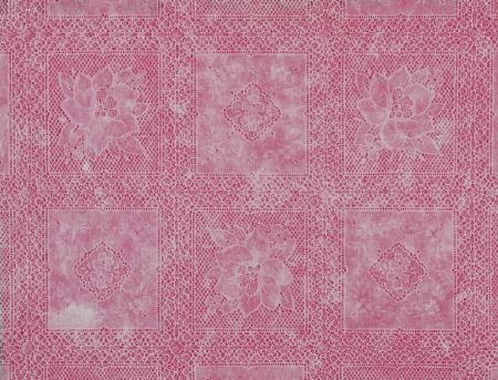 White lace floral pattern old fashioned red Stock Photo - 16806377