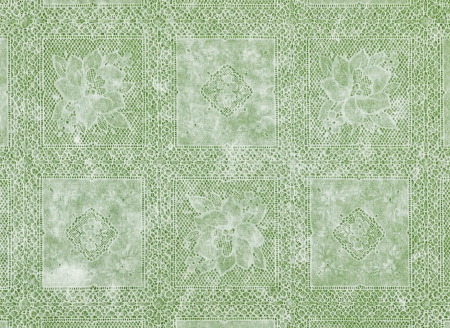 white floral pattern lace fashioned Stock Photo - 16806404