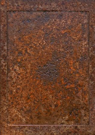metal frame weathered metal rust