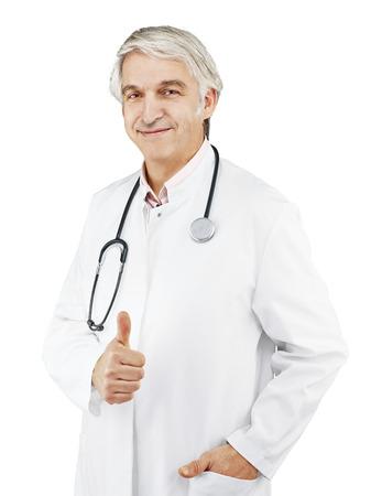 optionnel: Docteur avant en option de fond blanc