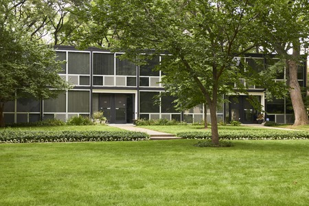 der: Architecture and urban Detroit Mies van der Rohe at the Lafayette Park