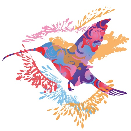 Hummingbird Stock Vector - 13637982