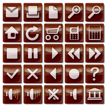 Icons-Brown-01-25 photo