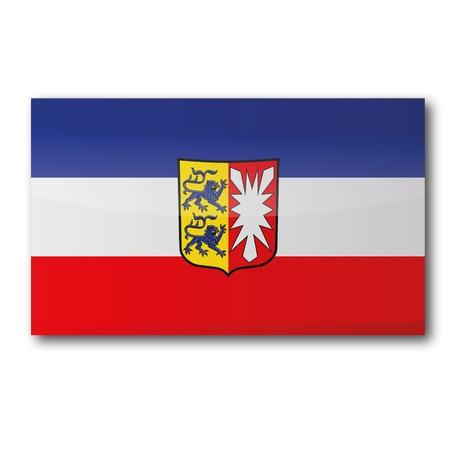 keel: Flag of Schleswig-Holstein Illustration