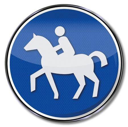 fcc: Traffic sign bridleway