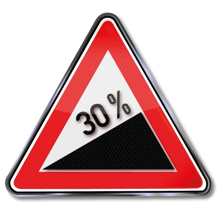 fcc: Traffic Sign 30 percent slope
