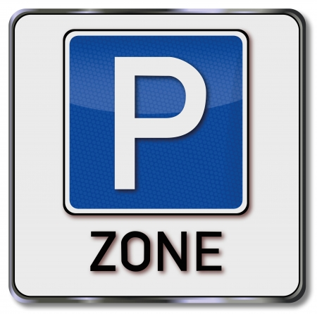 fcc: Road sign parking zone