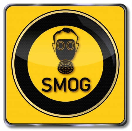 Shield Smog Stock Vector - 14531406