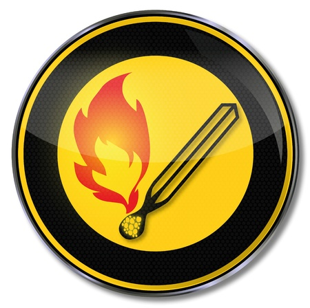 embers: Warning sign of fire danger