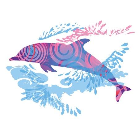 Delfín saltando