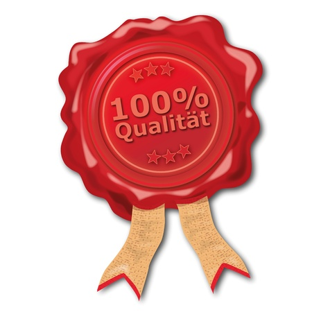 quality seal: 100  percent Quality Seal