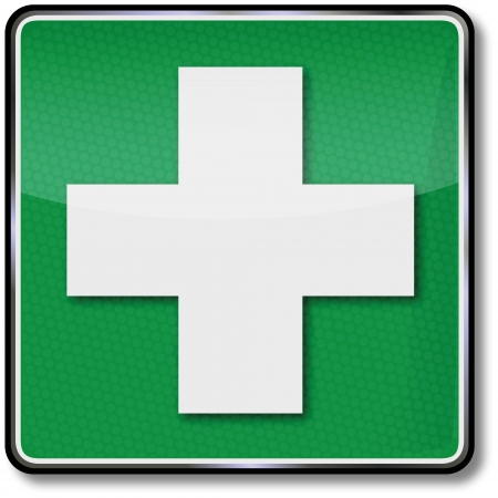 safety signs: Fire safety signs help medical