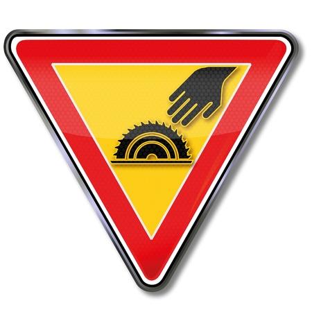 warning saw: Off-hand and circular
