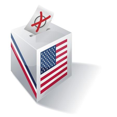 Selection box USA photo