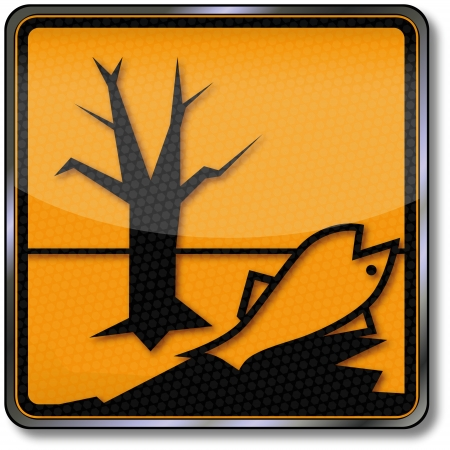 hazardous materials: Danger signs Harmful environment