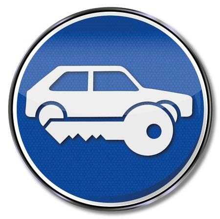 robo de autos: Señal automática, Llave y Segura