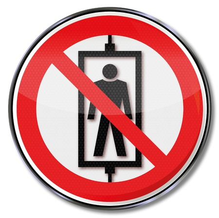 osh: Prohibition signs passengers banned