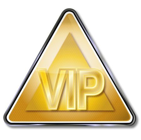 VIP sign Stock Vector - 14778016