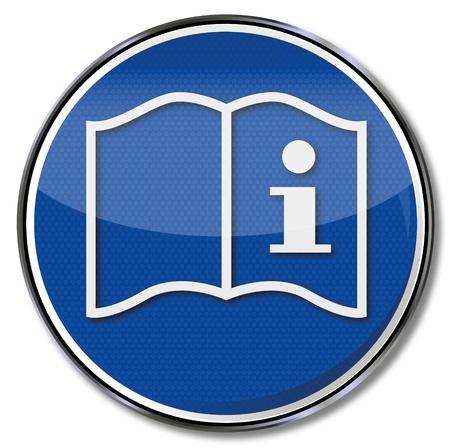 referenz: Anleitung zu bedienen Sicherheitszeichen
