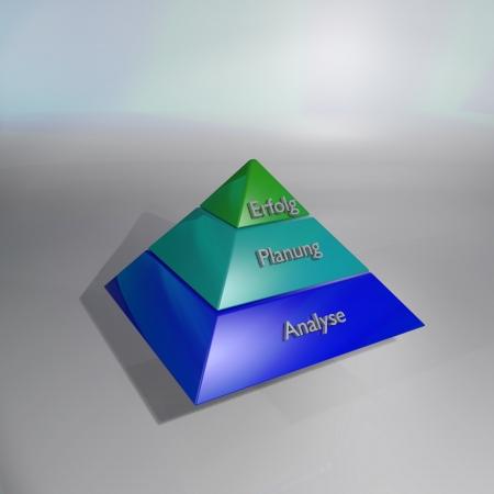 Pyramid and success Stock Photo - 14777989