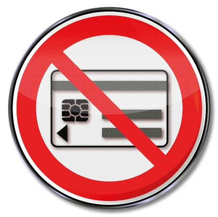 occupational risk: Prohibition signs carrying magnetic and electronic media banned