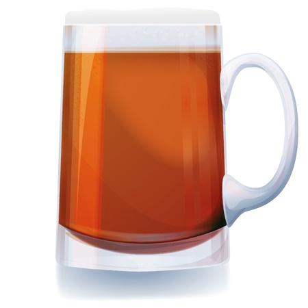 Glass of beer Stock Vector - 14950675