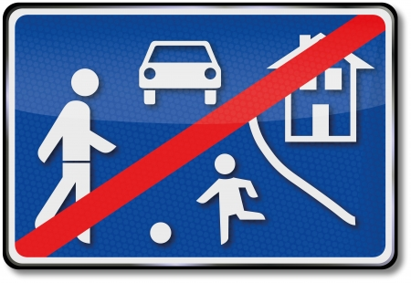 Game road traffic sign Stock Vector - 14950672