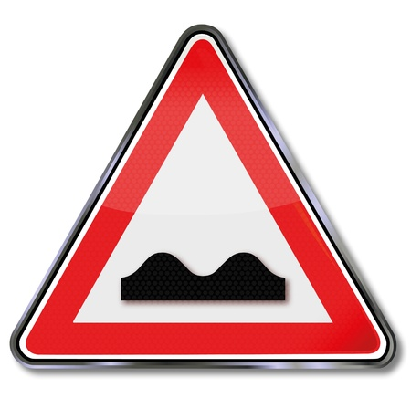 bump: Road sign bump