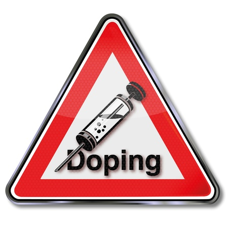 Doping and syringe shield Stock Vector - 14950739