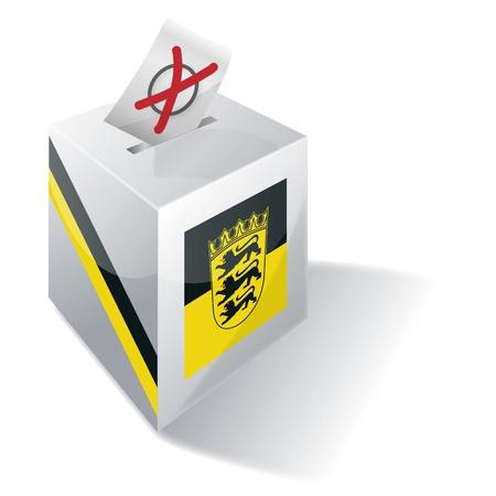 Selection box Baden-Wuerttemberg photo