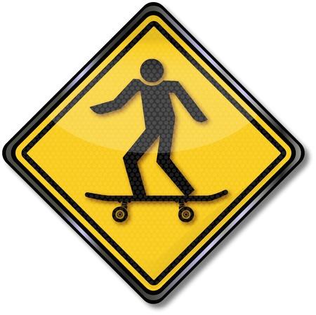 internationally: Sign skater