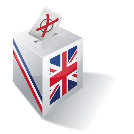 Selection box Britain Stock Vector - 14981950