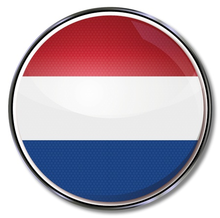 Button Netherlands Vector