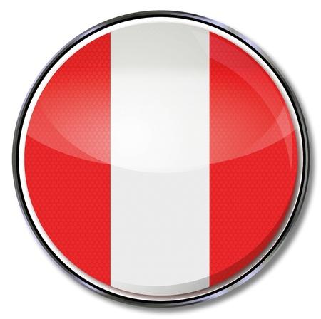 peru amazon: Button Peru Illustration