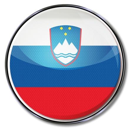 slovenia: Button Slovenia