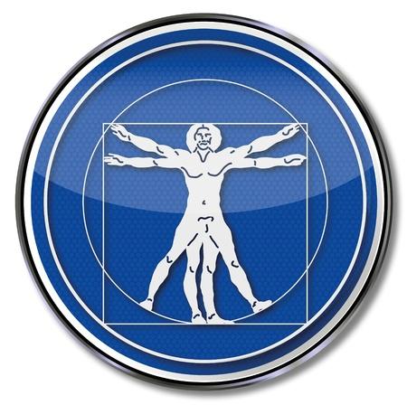 masaje deportivo: Escudo del coeficiente de oro