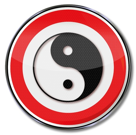 Sign Yin Yang Vector