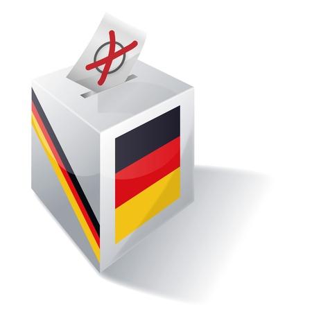 Selection box Germany Illustration