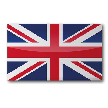 englishman: Flag UK Illustration