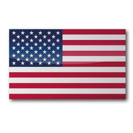 Flag USA Illustration