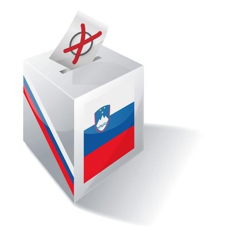 absentee: Selection box Slovenia