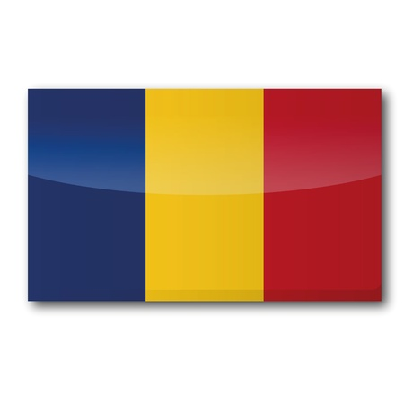 Flag Romania Vector