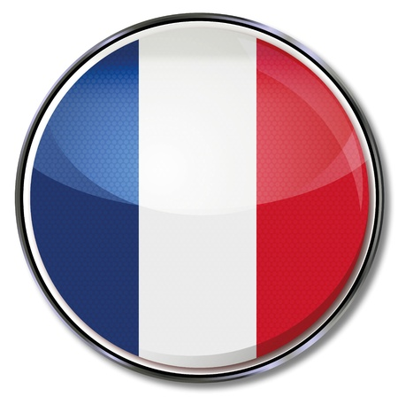frenchman: Button France Illustration